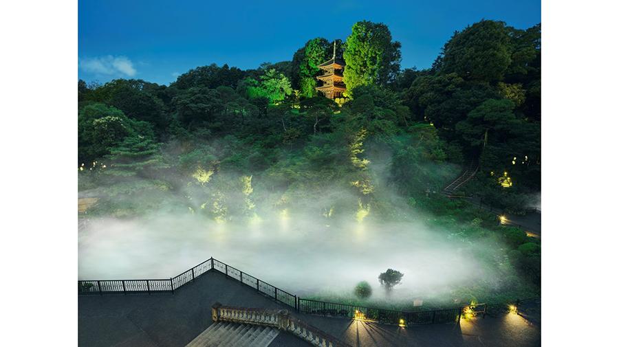 ホテル椿山荘東京、都会のオアシスで望む奇跡の絶景「東京雲海」を 10月1日より公開