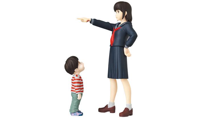 UDF「スタジオ地図」作品 #2 くんちゃん & ミライちゃん