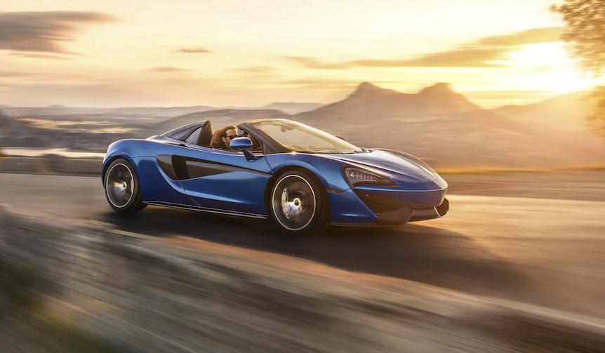 570Sのオープンモデルをグッドウッドで初披露へ|McLaren