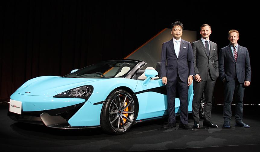 マクラーレン570Sスパイダー国内販売開始|McLaren