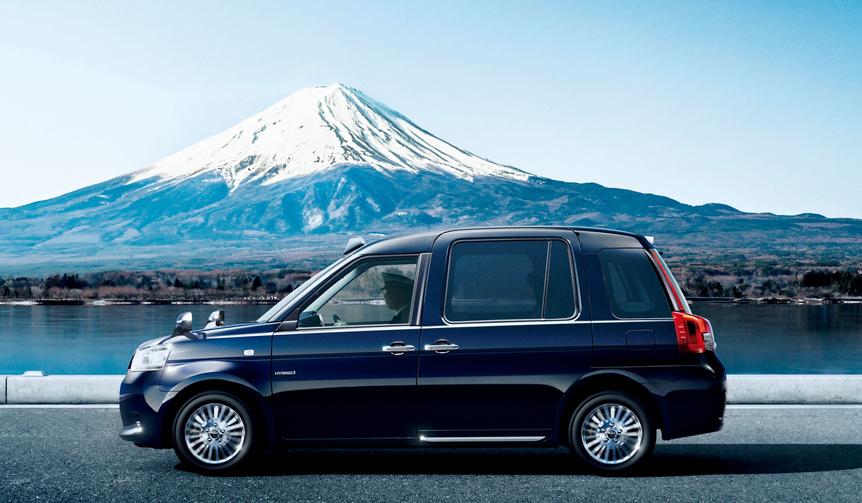 トヨタ、次世代タクシー専用車「ジャパンタクシー」を発売|TOYOTA