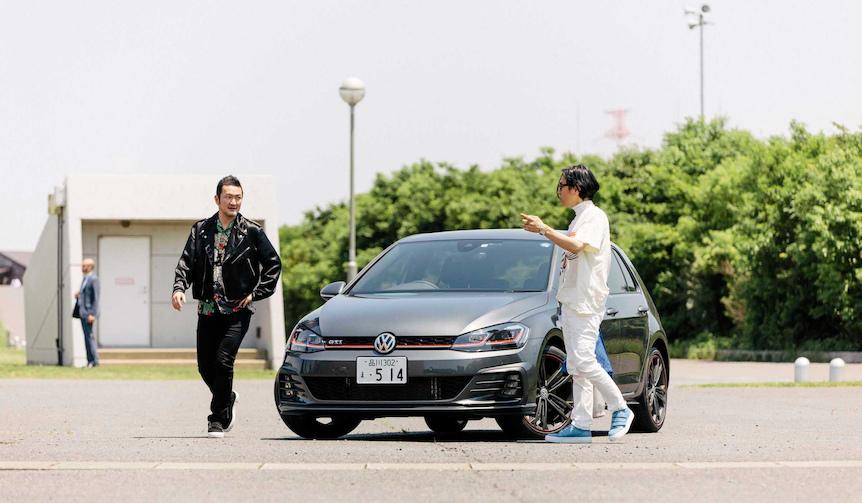 中村獅童がゴルフGTIで繰り広げるUnexpectedな旅|Volkswagen