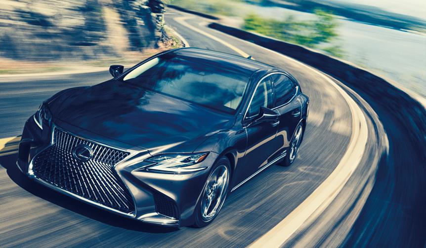 レクサスLSとLCをアップデート|Lexus