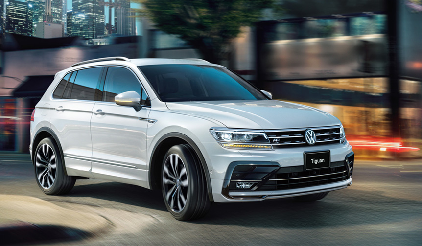 ティグアン、トゥーランにディーゼルモデルを導入 Volkswagen