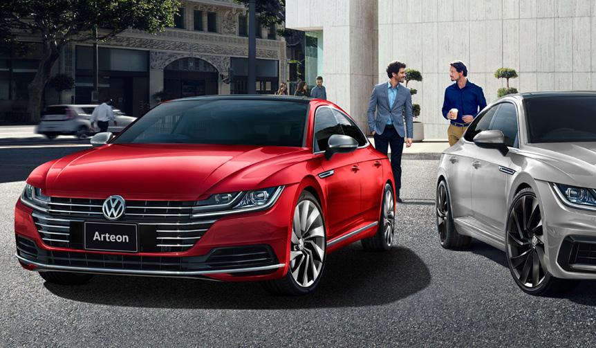 アルテオンに優雅な佇まいの新グレードを設定 Volkswagen