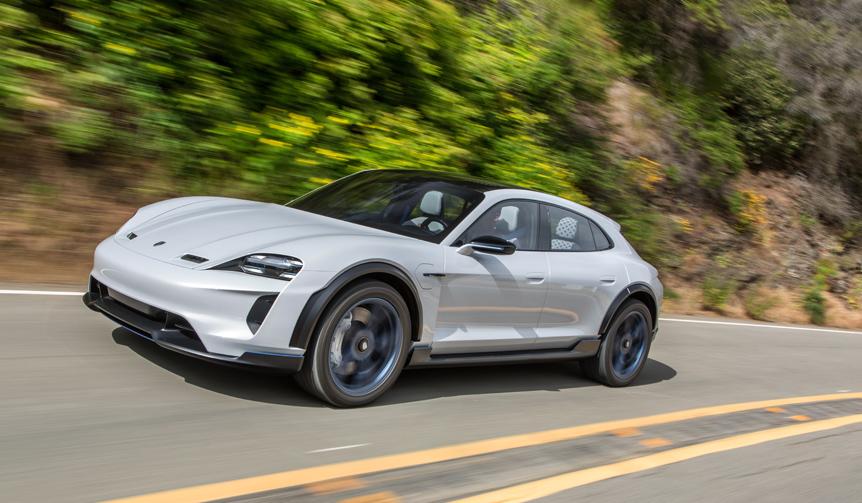 ポルシェ「ミッションE クロスツーリスモ」を市販化 Porsche