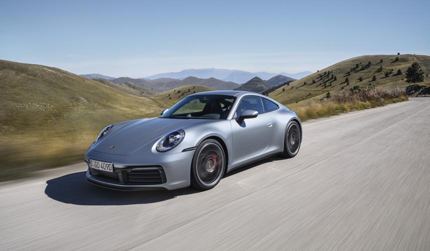8代目となる新型ポルシェ「911」デビュー Porsche