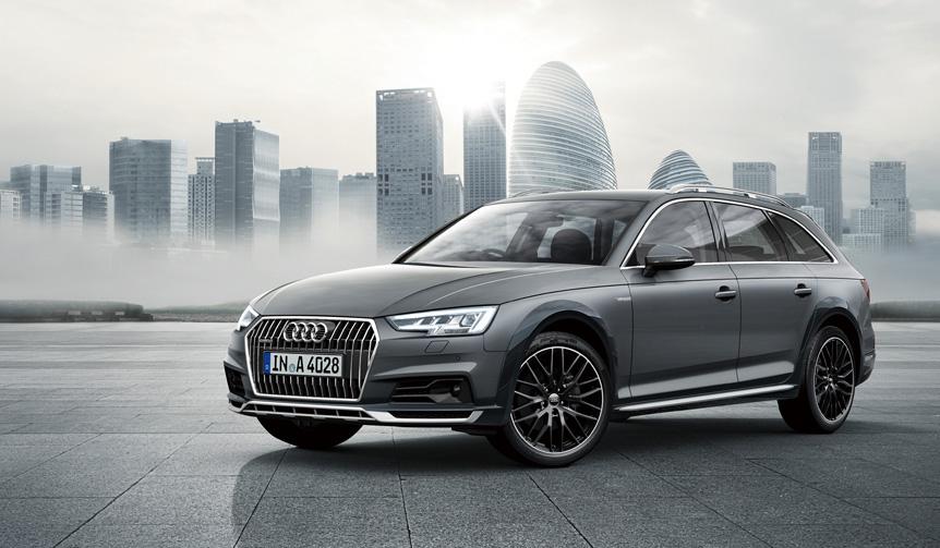 A4オールロードに専用カラーの限定モデル|Audi