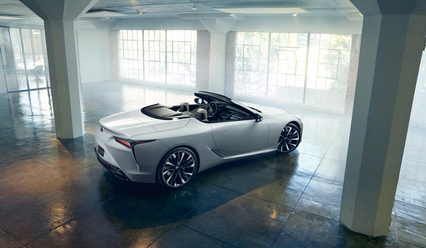 レクサス LCのオープンコンセプトを公開|Lexus