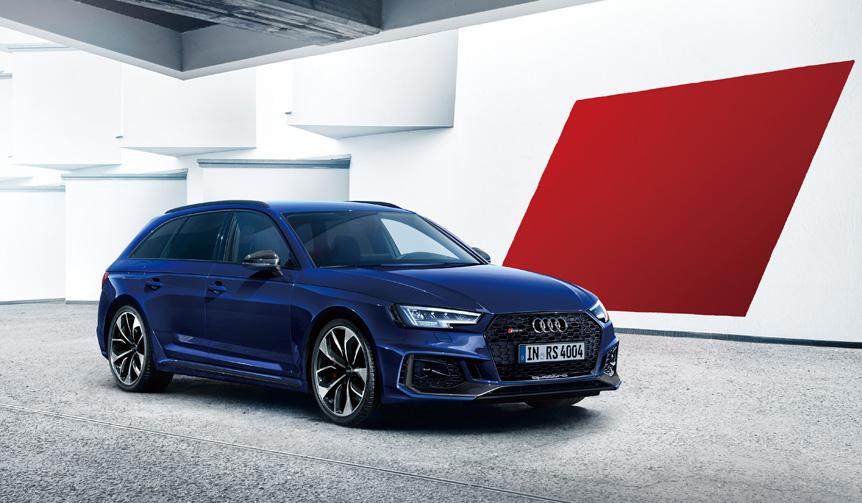 A4シリーズのトップRS 4アバントをフルモデルチェンジ Audi