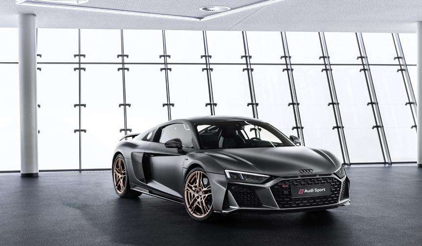 アウディR8に、V10エンジン10周年を記念した限定モデル Audi