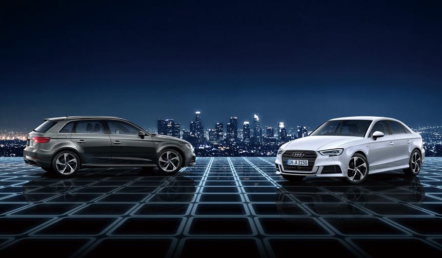 アウディA3の特別仕様車「Sライン ダイナミックリミテッド」発売 Audi