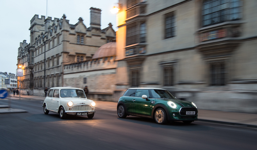 MINI誕生から60周年を記念した限定車 Mini