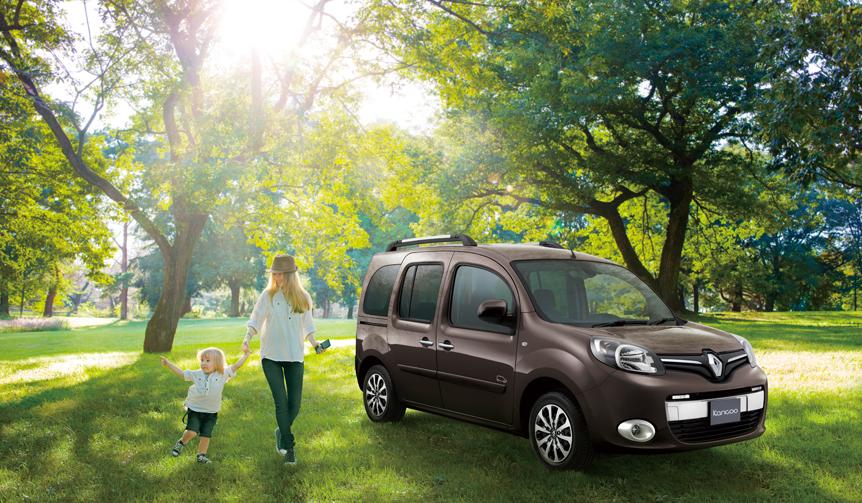 ドライブでリフレッシュするためのルノー カングー特別仕様車|Renault