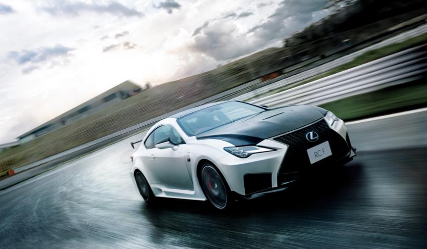 レクサスRC Fをマイナーチェンジ Lexus